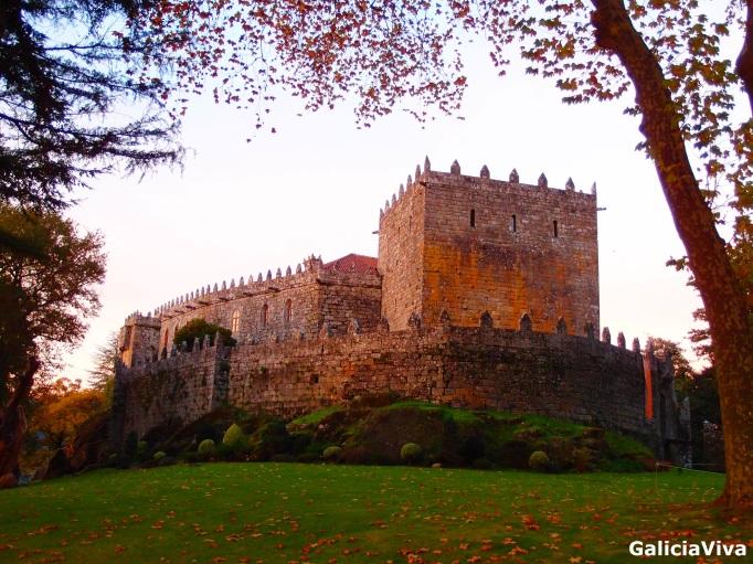 Castillo de Soutomaior y su Jardín Botánico